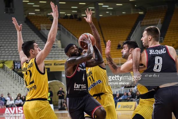 24 October 2018 Greece Athens Basketball Champions League preliminary round Group C 3rd matchday AEK Athens Brose Bamberg Tyrese Rice by Brose...