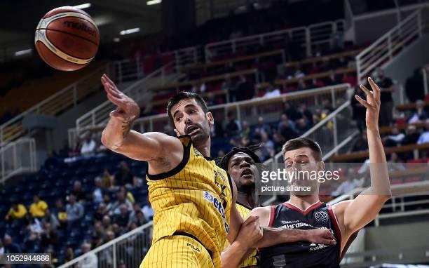 24 October 2018 Greece AthensBasketball Champions League preliminary round Group C 3rd matchday AEK Athens Brose Bamberg Dusan Sakota from AEK...