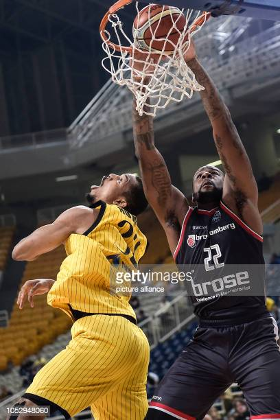 24 October 2018 Greece AthensBasketball Champions League preliminary round Group C 3rd matchday AEK Athens Brose Bamberg Cliff Alexander from Brose...