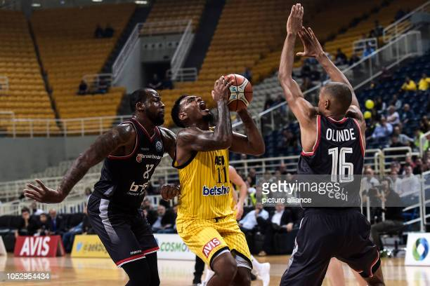 24 October 2018 Greece AthensBasketball Champions League preliminary round Group C 3rd matchday AEK Athens Brose Bamberg Louis Olinde of Brose...