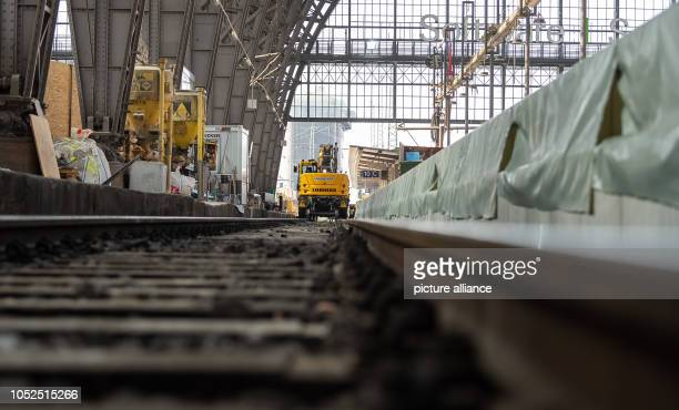 Work is being carried out on platforms 10 and 11 at Frankfurt Central Station as part of extensive modernisation and refurbishment work From 8...