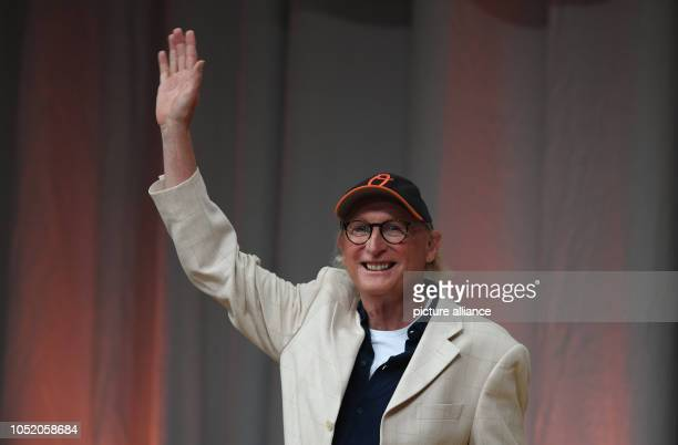 13 October 2018 Germany Frankfurt am Main The comedian Otto Waalkes comes to the Congress Center for a reading at the Frankfurt Book Fair The cult...