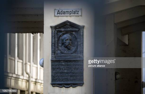 The sign 'Adamplatz' on the historical company portal reminds of Adam Opel the founder of the company The police are searching the premises of the...