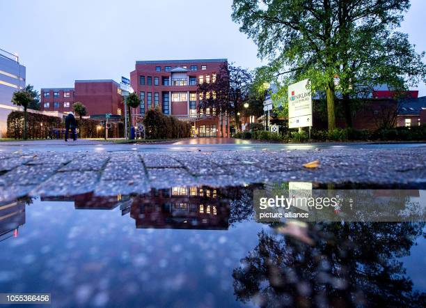 View of the former clinic Oldenburg The trial of the district court against Niels Högel takes place in the WeserEmsHallen The public prosecutor's...
