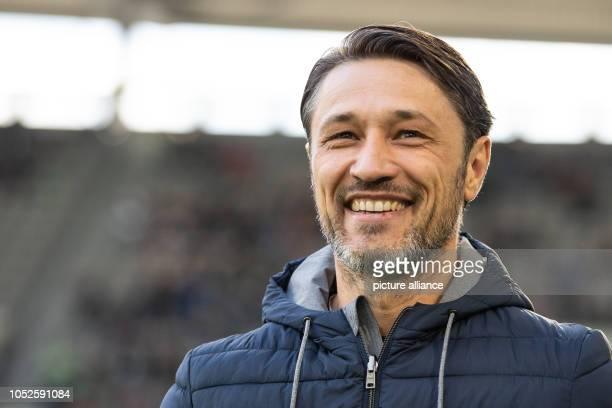 20 October 2018 Germany Wolfsburg Soccer Bundesliga 8th matchday VfL Wolfsburg FC Bayern Munich in the Volkswagen Arena Munich'S coach Niko Kovac is...