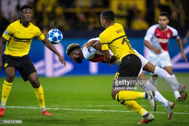 03 October 2018 North RhineWestphalia Dortmund Soccer Champions League Borussia Dortmund AS Monaco Group stage Group A 2nd matchday in...