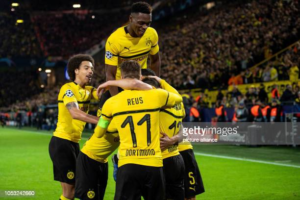 24 October 2018 North RhineWestphalia Dortmund Soccer Champions League Borussia Dortmund Atletico Madrid Group stage Group A 3rd matchday at Signal...