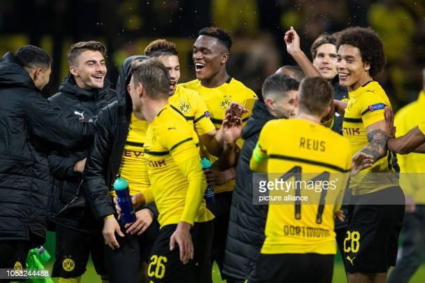 October 2018, North Rhine-Westphalia, Dortmund: Soccer: Champions League, Borussia Dortmund - Atletico Madrid, Group stage, Group A, 3rd matchday at...