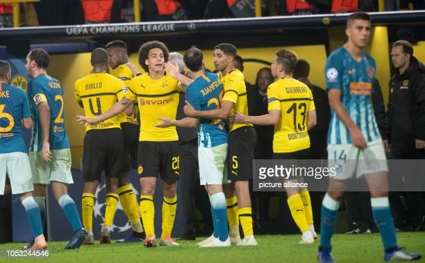 24 October 2018 North RhineWestphalia Dortmund Soccer Champions League Borussia Dortmund Atlético Madrid Group stage Group A Matchday 3 Dortmund's...