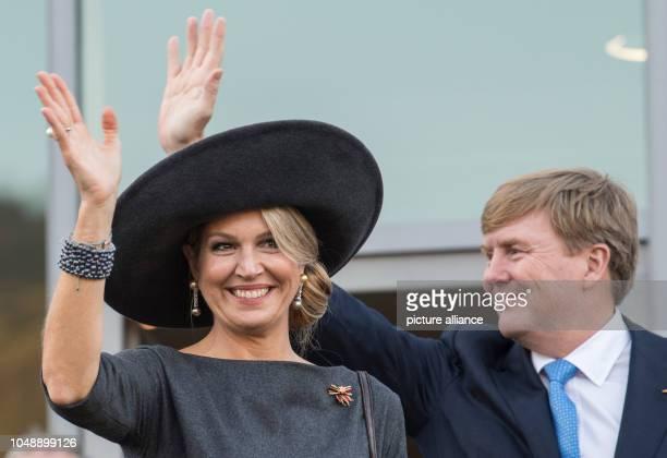 10 October 2018 RhinelandPalatinate BernkastelKues 10 October 2018 Germany BernkastelKues WillemAlexander King of the Netherlands and Queen Maxima...