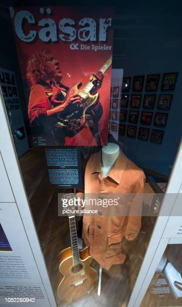 An outfit of the guitarist and bandleader Peter 'Cäsar' Gläser is in the exhibition 'Oh Yeah Pop Music in Germany' at the Stadtgeschichtliches Museum...