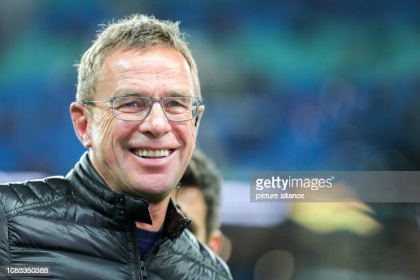 Soccer Europa League Group stage Matchday 3 RB Leipzig Celtic Glasgow in the Red Bull Arena Leipzig Leipzig's coach and sports director Ralf Rangnick...