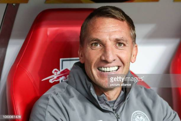 Soccer Europa League Group stage Matchday 3 RB Leipzig Celtic Glasgow in the Red Bull Arena Leipzig Glasgow coach Brendan Rodgers Photo Jan...