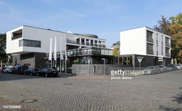 The Villa Ida media campus of the Sparkasse Leipzig Media Foundation The campus includes a historic business villa and the modern conference centre...