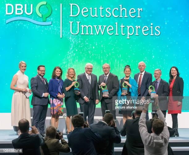 Moderator Judith Rakers Alexander Bonde General Secretary of the DBU Rita SchwarzelührSutter Parliamentary State Secretary and Chairwoman of the...