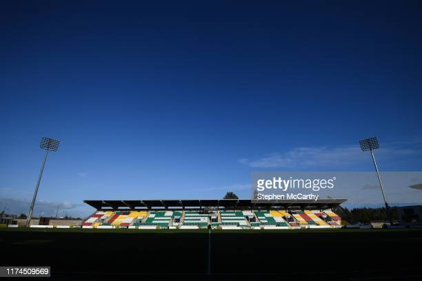 October 2019 A general view of Tallaght Stadium prior to the UEFA Women's 2021 European Championships qualifier match between Republic of Ireland and...