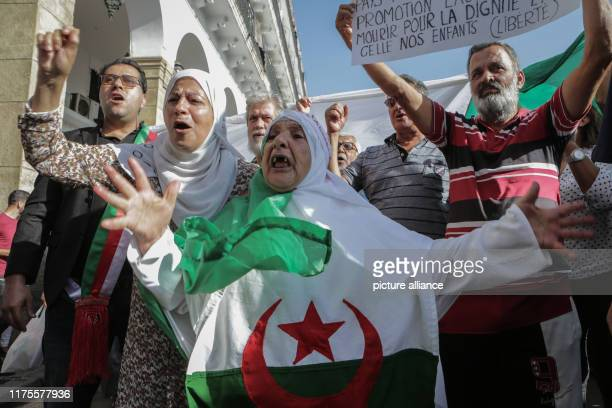 Demonstrators take part in a protest against a proposed new hydrocarbons law Photo Mohamed Farouk Batiche/dpa