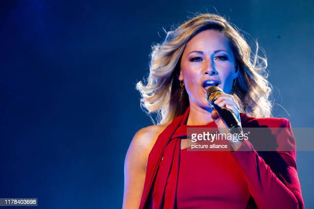 26 October 2019 BadenWuerttemberg Burladingen The singer Helene Fischer appears in the context of the celebrations to the 100year old firm...