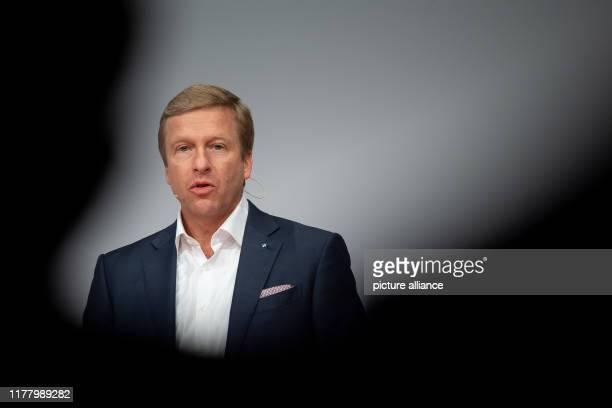 25 October 2019 BadenWuerttemberg Stuttgart Oliver Zipse Chairman of the Board of Management of BMW AG speaks during the Handelsblatt conference...