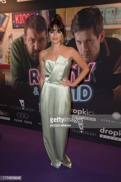 """October 2019, Berlin: The actress Xenia Assenza comes to the premiere of the movie """"Ronny & Klaid"""". The film will be released in German cinemas on 10..."""