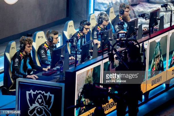 The esports team Cloud9 will compete in the group phase of the esports League of Legends World Championship at the Verti Music Hall Photo Christoph...