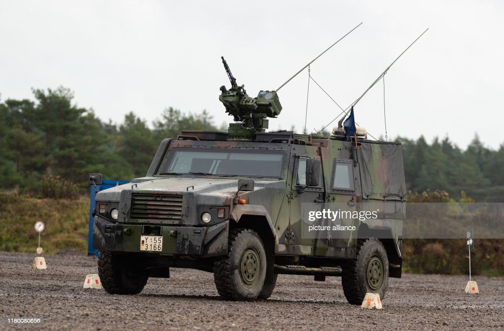 An Armoured Vehicle Of The Bundeswehr Of The Type Eagle Iv Drives News Photo Getty Images