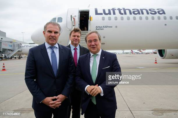 07 October 2019 North RhineWestphalia Duesseldorf Carsten Spohr Chairman of the Executive Board of Deutsche Lufthansa AG Thomas Schnalke CEO of...