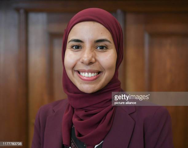 The Egyptian Youmna Fouad former scholarship holder of the Marwa El Sherbini Scholarship for Cosmopolitanism and Tolerance Photo Jens...