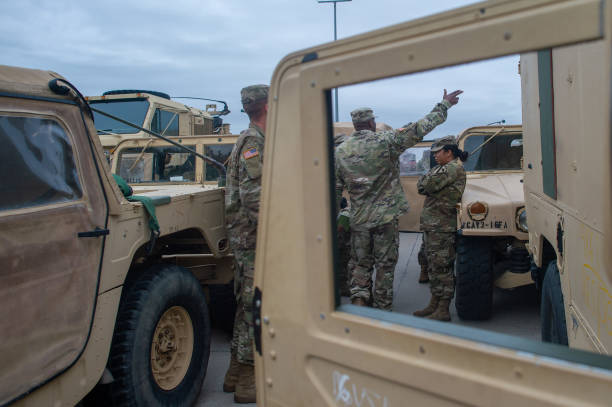 DEU: US Military Convoys On Their Way To Poland