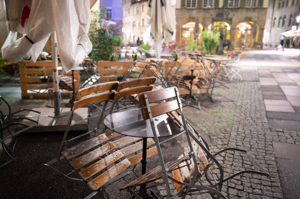 DEU: Coronavirus - Curfew For Pubs In Stuttgart