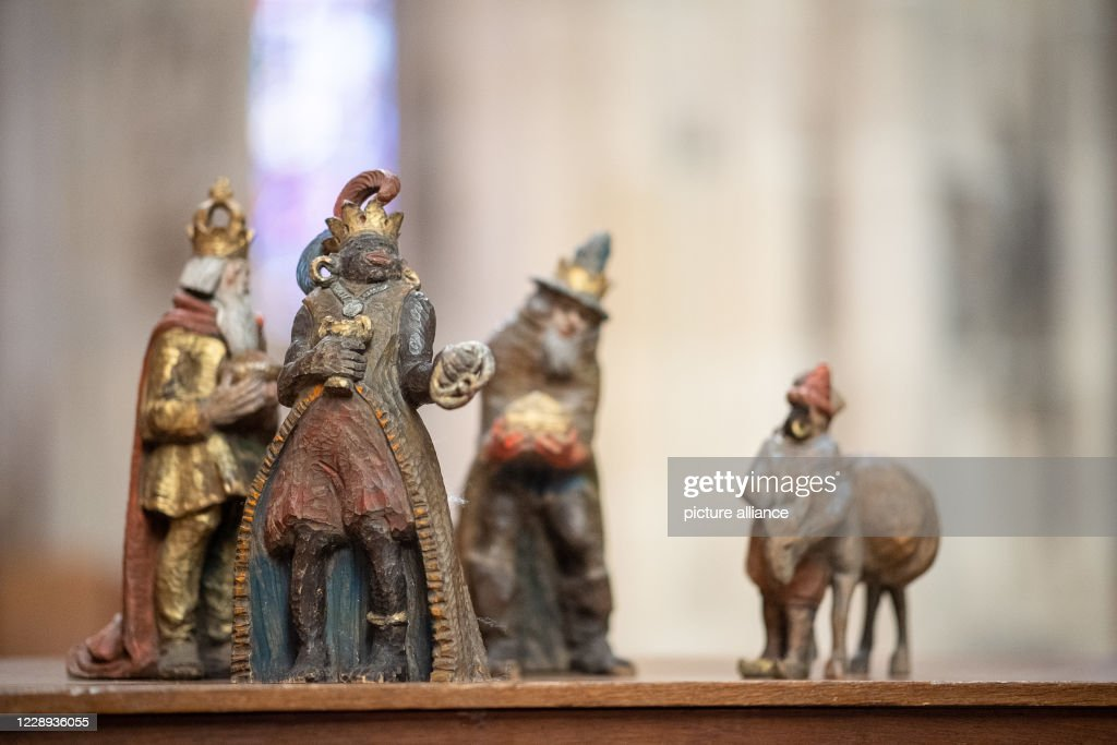 Epiphany from the crib of the Ulmer cathedral : Photo d'actualité