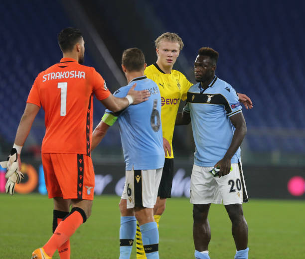 ITA: CL Lazio Rome - Borussia Dortmund