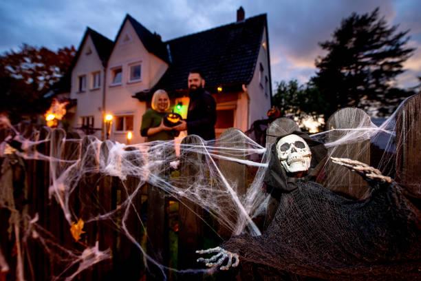 DEU: Halloween House In Hanover