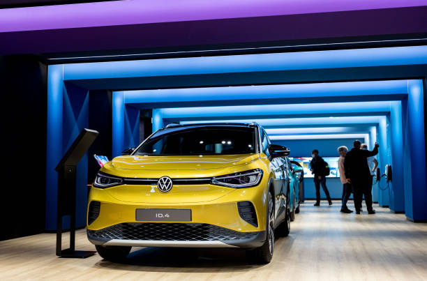 DEU: VW Electric Cars In The Autostadt
