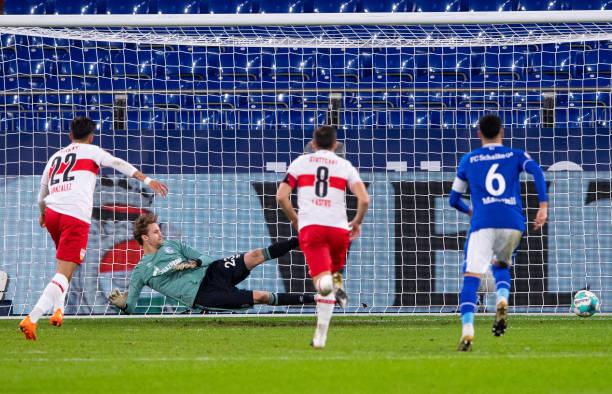 DEU: Bundesliga Schalke 04 - VfB Stuttgart