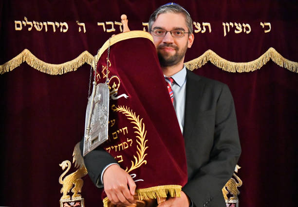 DEU: New Torah For The Jewish Community Of Thuringia