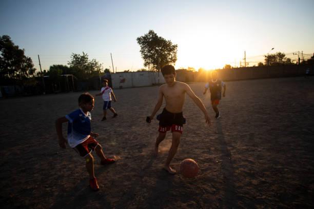 ARG: Maradona's Birthplace - Football Pitch
