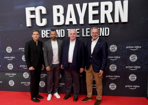 DEU: Premiere Of The Documentary Series FC Bayern - Behind The Legend