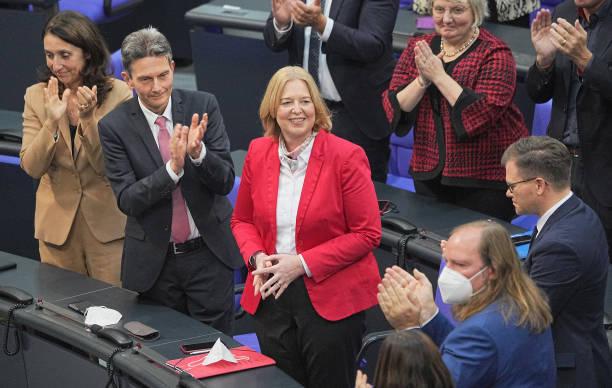 DEU: Constituent Session Of The New German Parliament