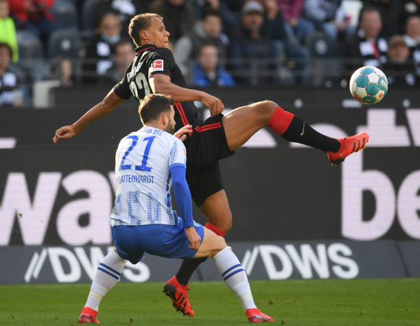 DEU: Bundesliga Eintracht Frankfurt - Hertha BSC