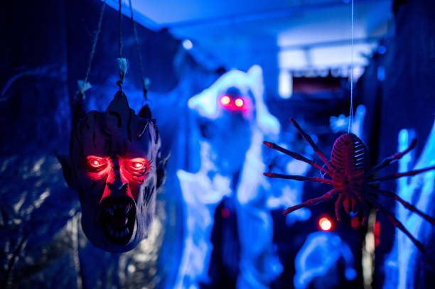 DEU: Horror Maze For Halloween In Private House