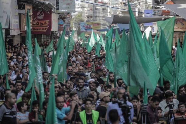 GZA: Hamas Rally In Gaza