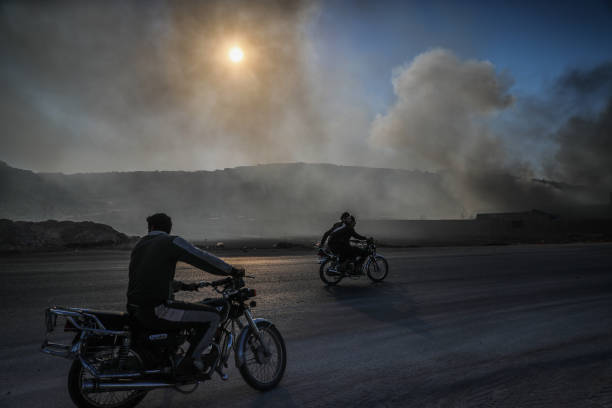 SYR: Missile Shelling In Idlib