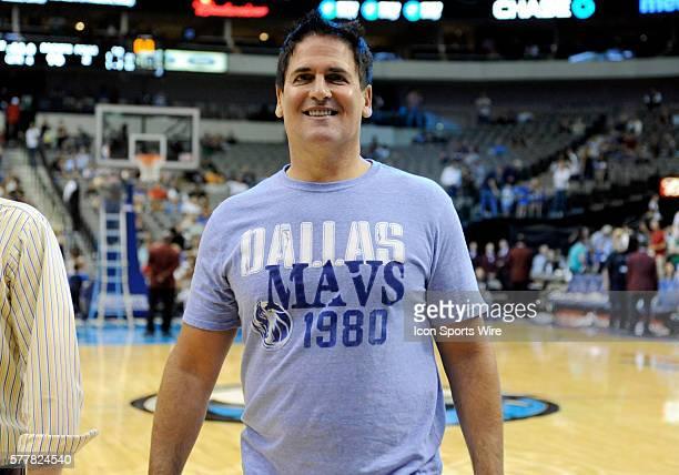 Dallas Mavericks owner Mark Cuban after an NBA preseason game between the Houston Rockets and the Dallas Mavericks at the American Airlines Center in...
