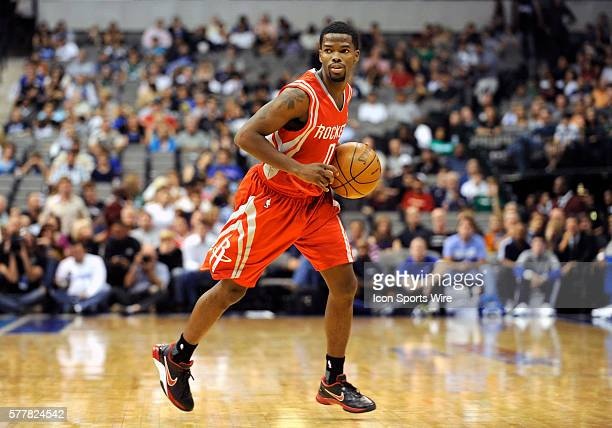 Houston Rockets point guard Aaron Brooks had 18 points in an NBA preseason game between the Houston Rockets and the Dallas Mavericks at the American...