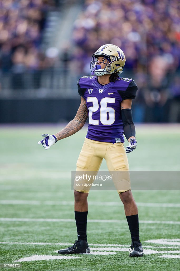 NCAA FOOTBALL: OCT 22 Oregon State at Washington : News Photo