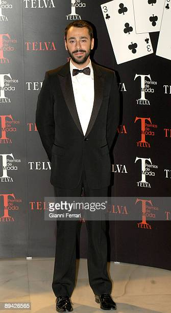 October 23 2006 Palace Hotel Madrid 'Telva' Awards In the image Juanjo Olive Telva Best Spanish Fashion Designer