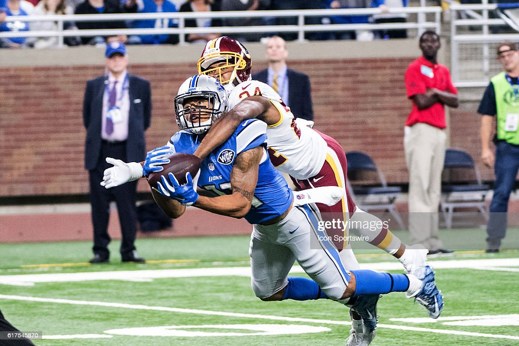 NFL: OCT 23 Redskins at Lions : News Photo