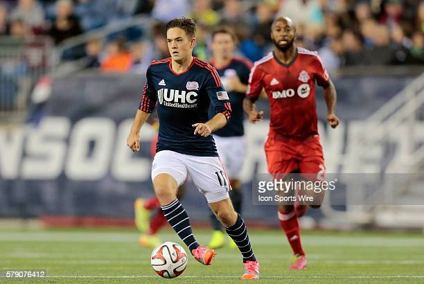 New England Revolution's Kelyn Rowe The New England Revolution defeated Toronto FC 10 in a regular season Major League Soccer match at Gillette...