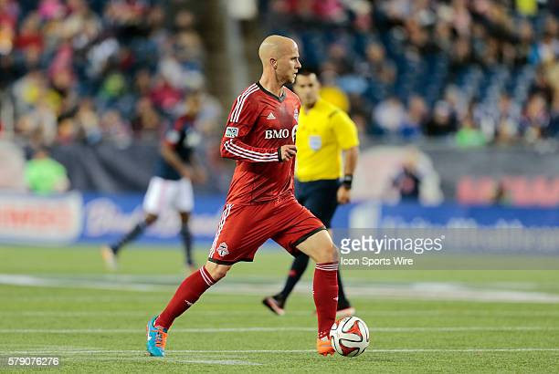 Toronto FC's Michael Bradley looks to make a pass The New England Revolution defeated Toronto FC 10 in a regular season Major League Soccer match at...